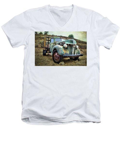 Still Truckin' Men's V-Neck T-Shirt