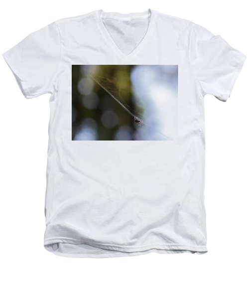 Still Vibration Men's V-Neck T-Shirt by Rhys Arithson