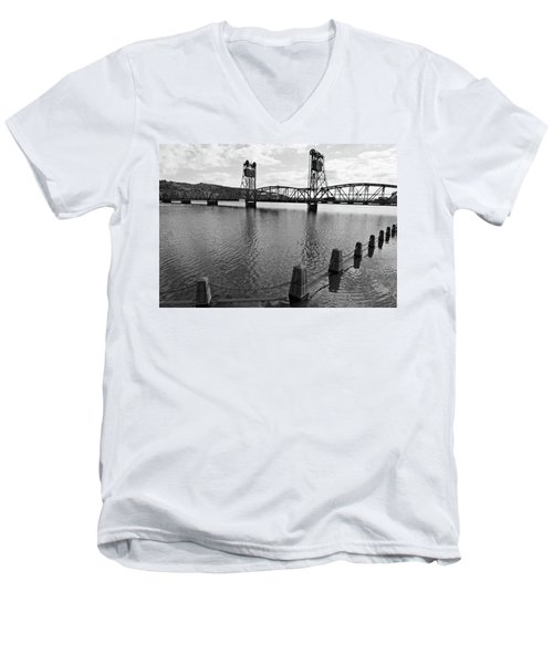 Still Waters In Stillwater Men's V-Neck T-Shirt