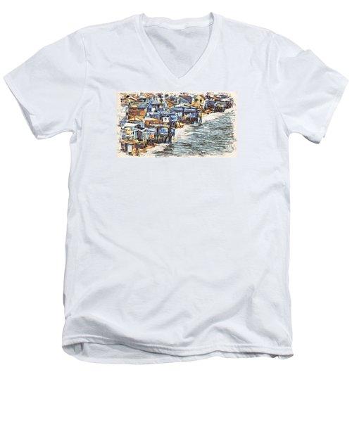 Stiltsville Men's V-Neck T-Shirt