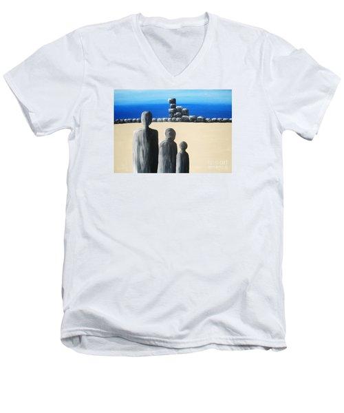 Stone Horizon Men's V-Neck T-Shirt