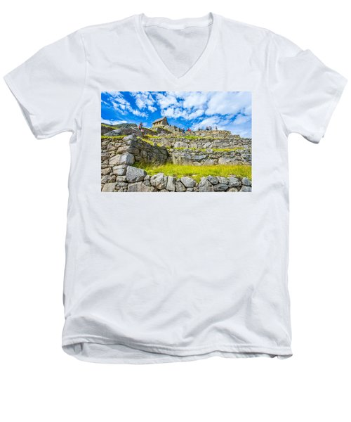 Stone Walls Men's V-Neck T-Shirt