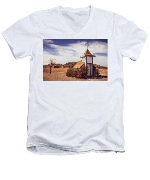 Stop Rest Worship Men's V-Neck T-Shirt