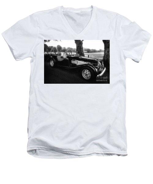 Stopping Under The Dark Hedges Men's V-Neck T-Shirt