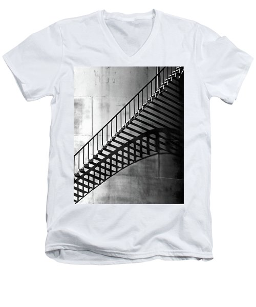 Storage Stairway Men's V-Neck T-Shirt by Christopher McKenzie