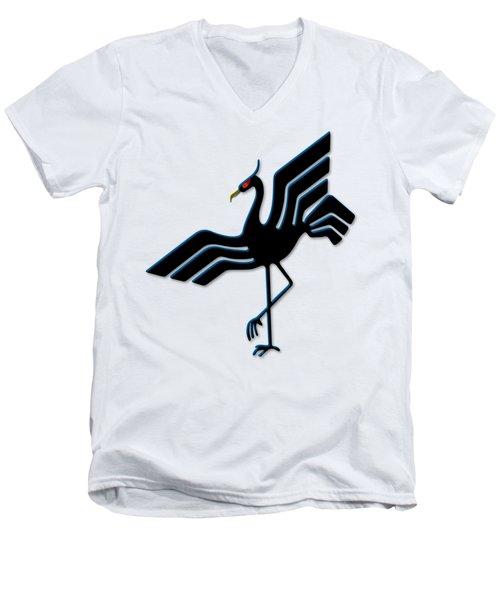 Stork Men's V-Neck T-Shirt