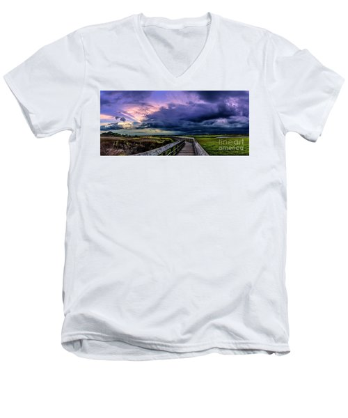 Storm Clouds Men's V-Neck T-Shirt