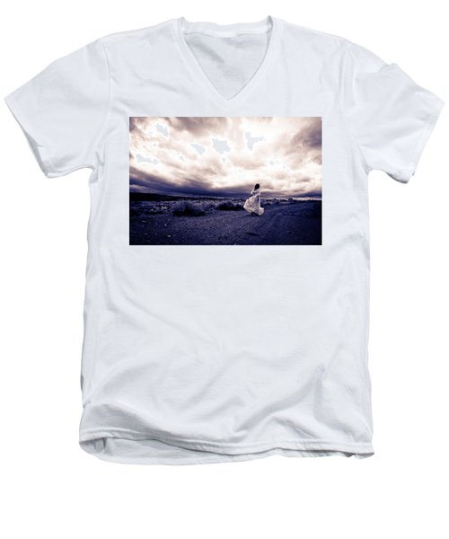 Storm Walk Men's V-Neck T-Shirt