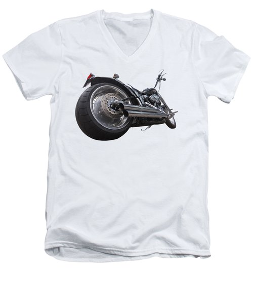 Storming Harley Men's V-Neck T-Shirt