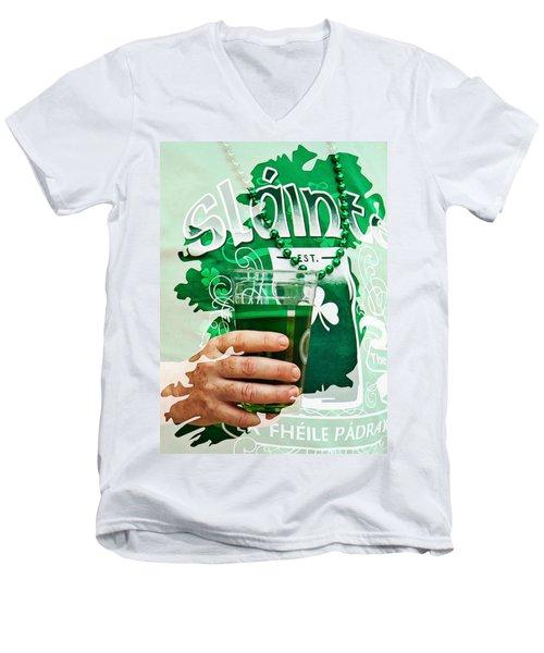 St. Patrick's Day Men's V-Neck T-Shirt