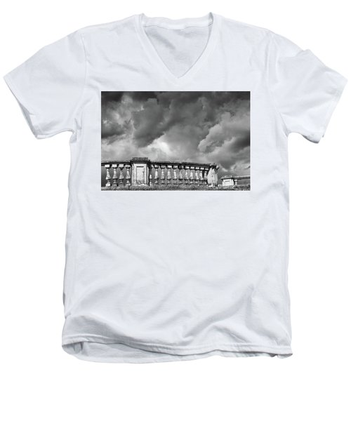 St.petersburg  #9704 Men's V-Neck T-Shirt