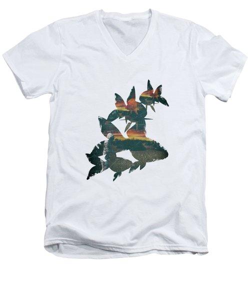 Strange Encounter Men's V-Neck T-Shirt