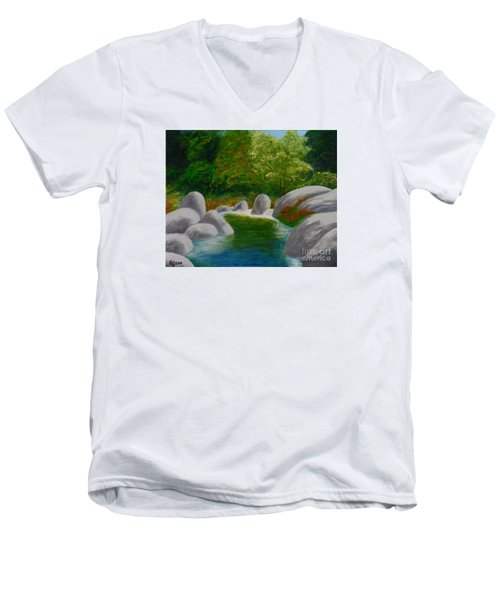 Stream One Men's V-Neck T-Shirt