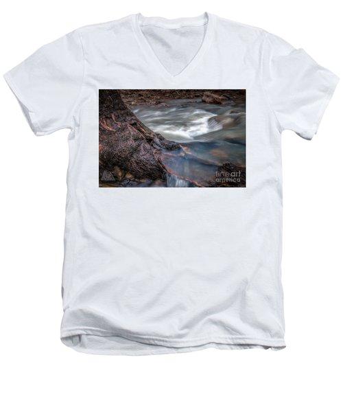 Stream Story Men's V-Neck T-Shirt