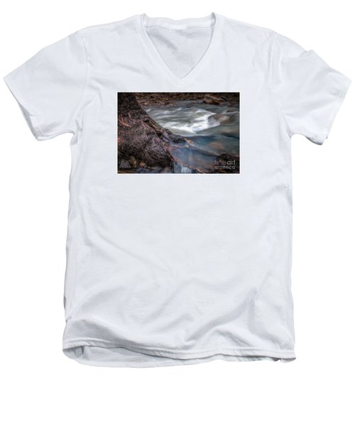 Stream Story Men's V-Neck T-Shirt
