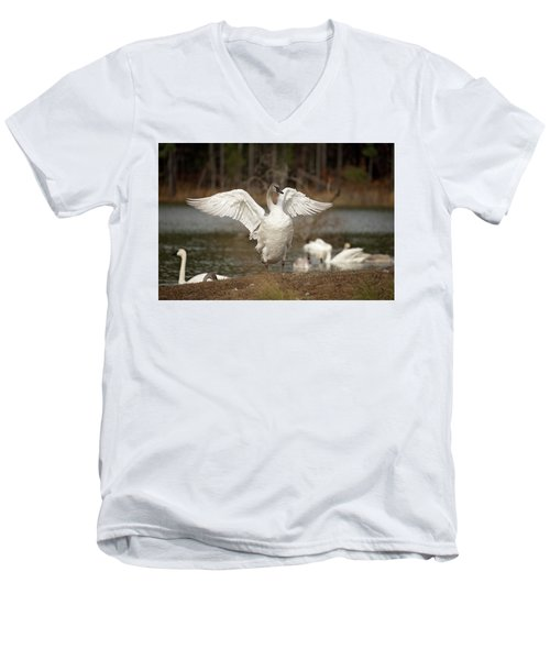 Stretch Your Wings Men's V-Neck T-Shirt