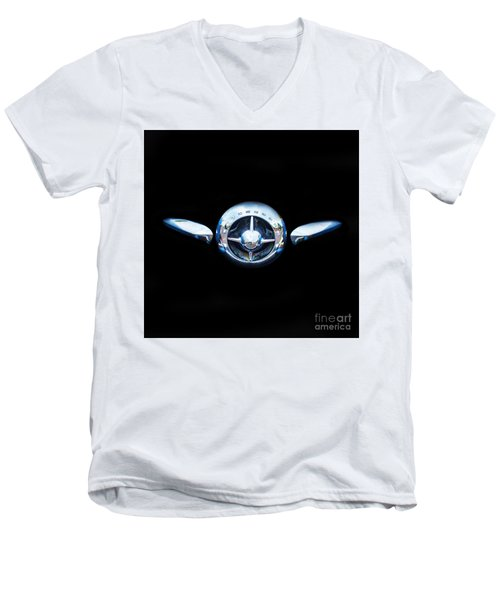 Studebaker In Black Men's V-Neck T-Shirt by Steven Parker