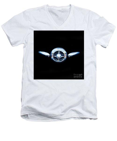 Studebaker In Black Men's V-Neck T-Shirt
