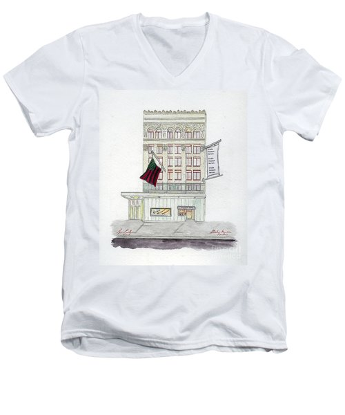 Studio Museum In Harlem Men's V-Neck T-Shirt