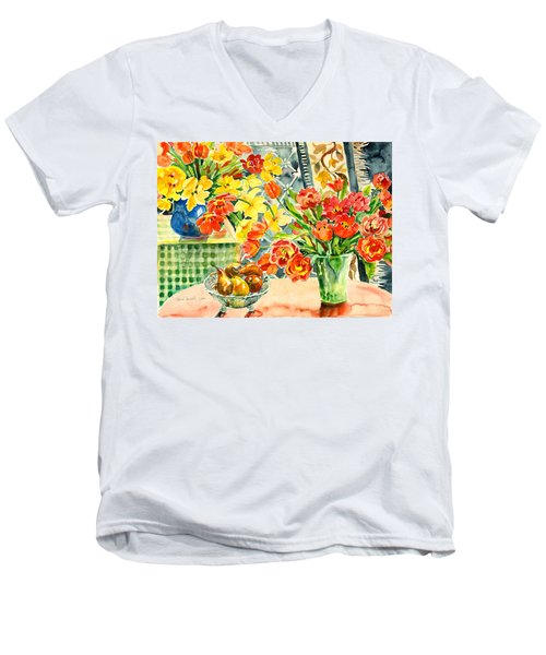 Studio Still Life Men's V-Neck T-Shirt