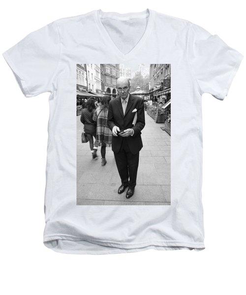 Studious Men's V-Neck T-Shirt