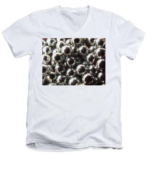 Study Of Bb's, An Abstract. Men's V-Neck T-Shirt
