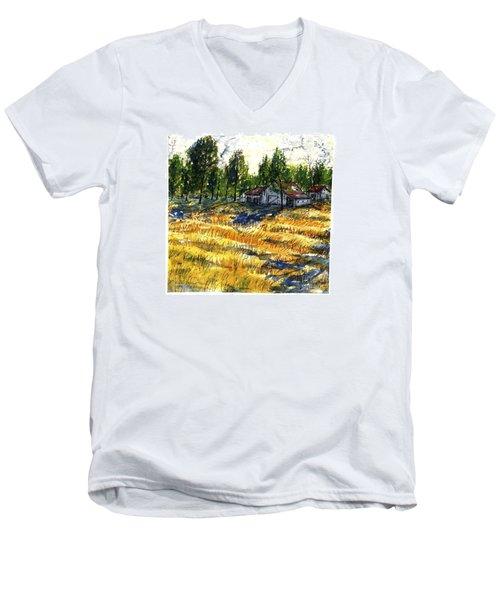 Suber Road Barns Men's V-Neck T-Shirt