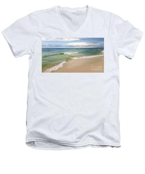 Sublime Seashore  Men's V-Neck T-Shirt