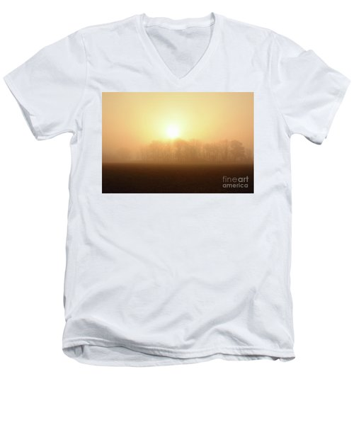 Subtle Sunrise Men's V-Neck T-Shirt