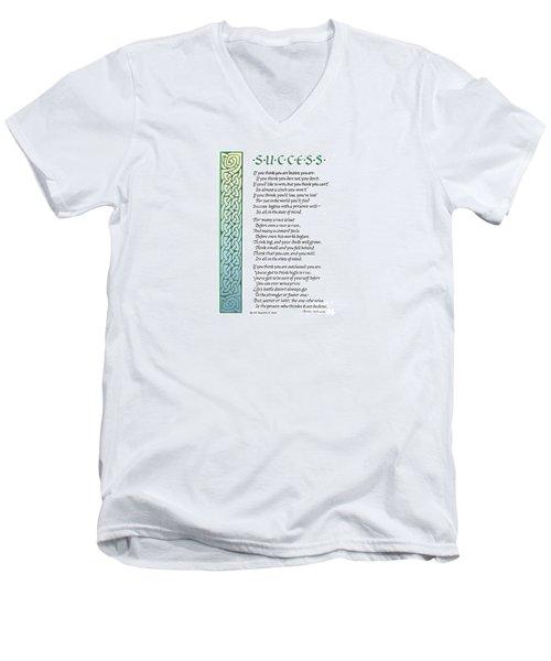 Success Men's V-Neck T-Shirt