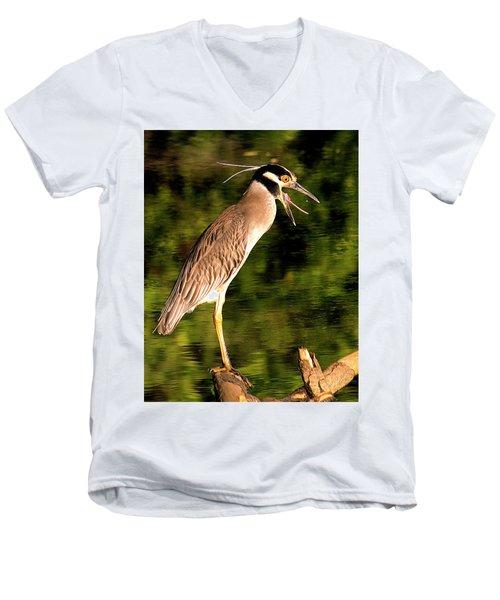 Men's V-Neck T-Shirt featuring the photograph Success by Jean Noren