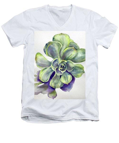 Succulent Plant Men's V-Neck T-Shirt