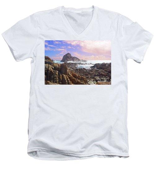 Sugarloaf Rock X Men's V-Neck T-Shirt
