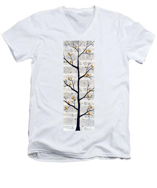 Sukhvan  Men's V-Neck T-Shirt
