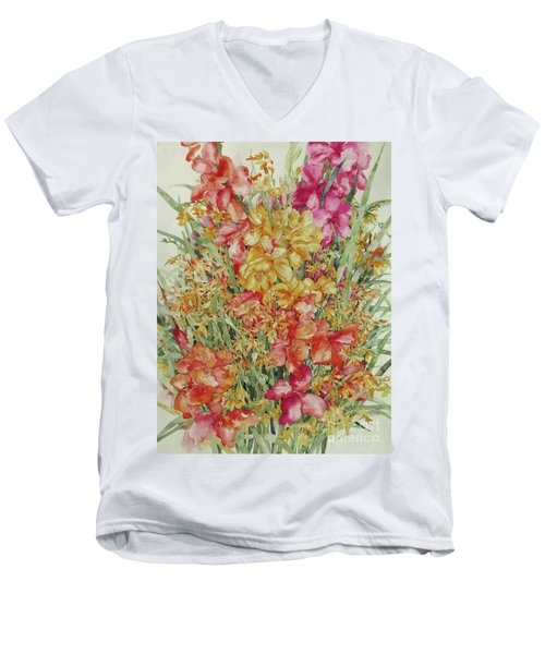 Summer Day Men's V-Neck T-Shirt