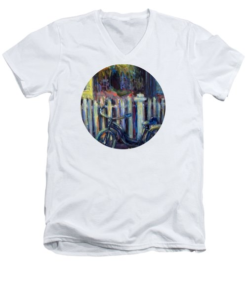 Summer Days Men's V-Neck T-Shirt by Mary Wolf
