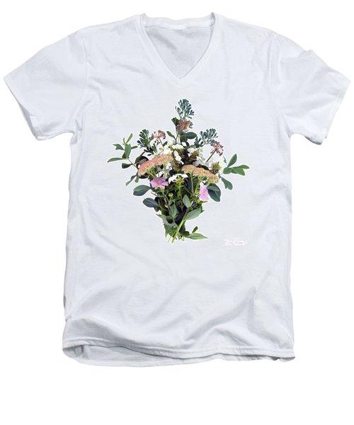 Summer Perrenials Men's V-Neck T-Shirt