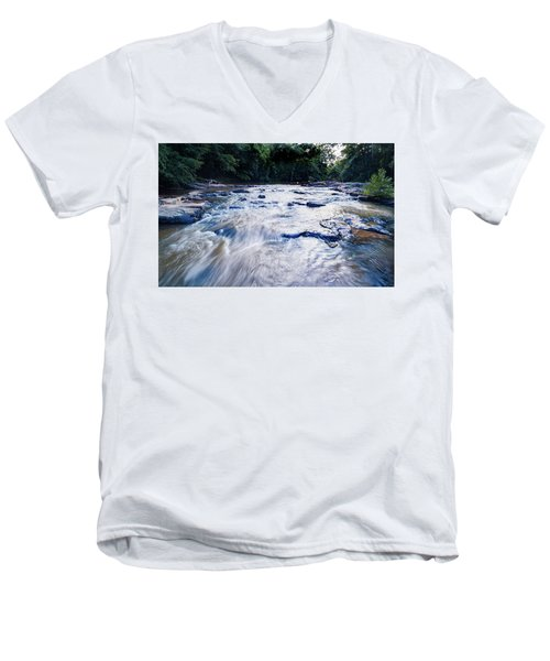 Summer River Men's V-Neck T-Shirt