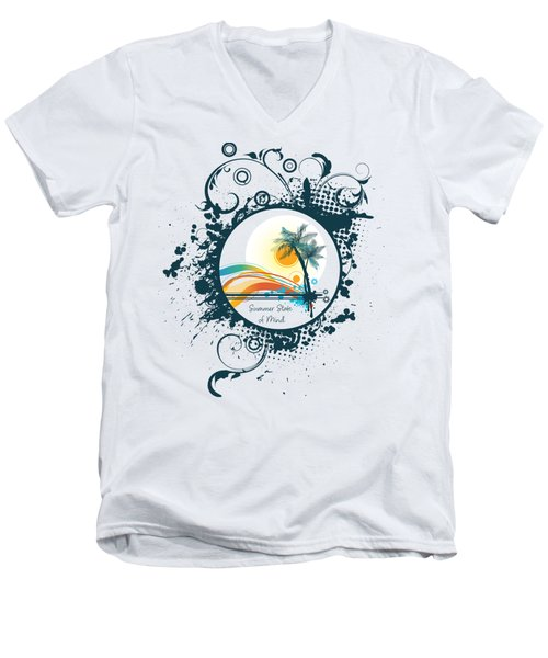 Summer State Of Mind Men's V-Neck T-Shirt
