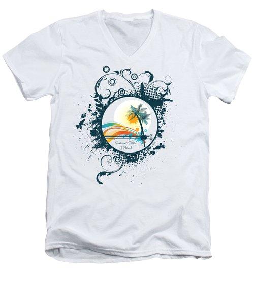 Summer State Of Mind Men's V-Neck T-Shirt