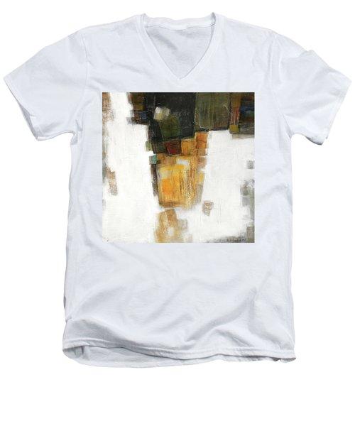 Sun Men's V-Neck T-Shirt by Behzad Sohrabi