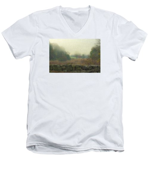 Sun Breaking Through Men's V-Neck T-Shirt