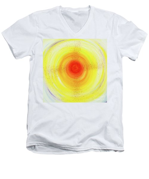Sun Salutations Men's V-Neck T-Shirt