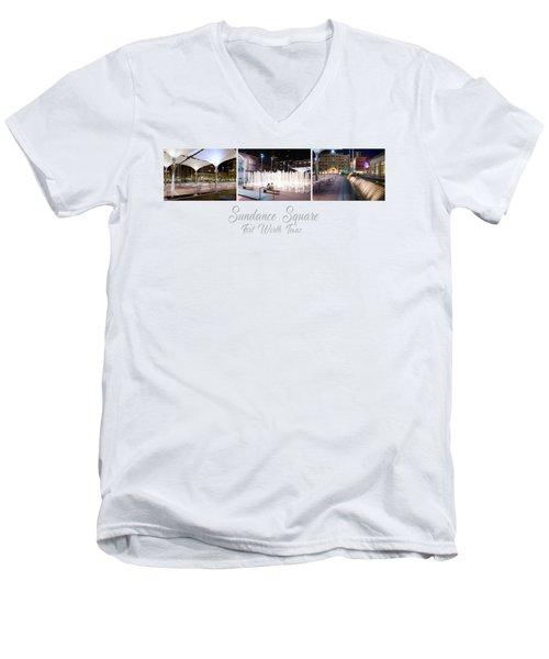 Sundance Png 101117 Men's V-Neck T-Shirt