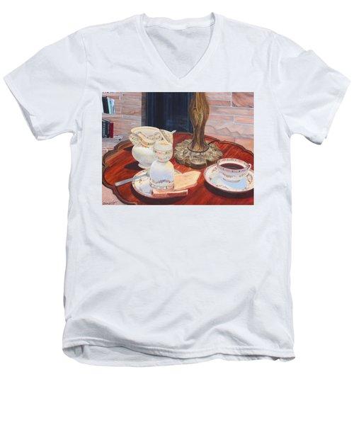 Sunday Breakfast Men's V-Neck T-Shirt