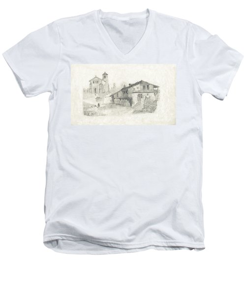 Sunday Service - No Borders Men's V-Neck T-Shirt