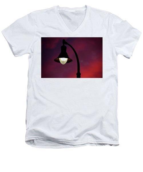 Sundowner Horizontal Men's V-Neck T-Shirt