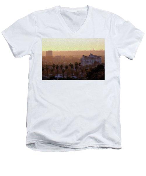 Sunet Colors Men's V-Neck T-Shirt