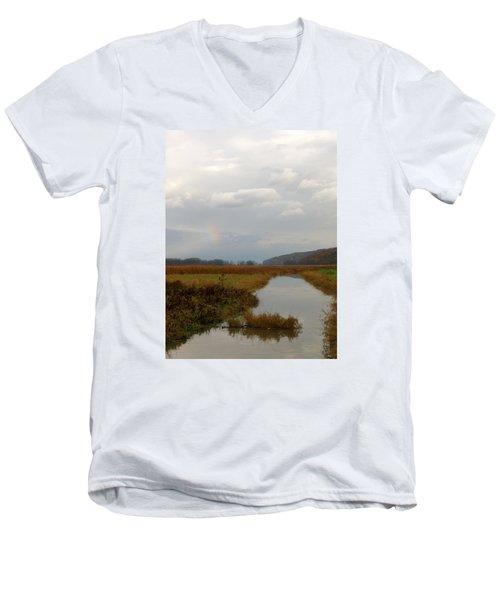 Sunless Rainbow Men's V-Neck T-Shirt