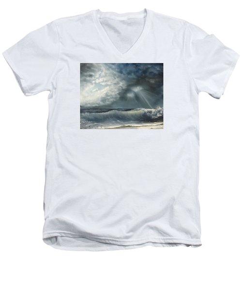 Sunlit Sea Men's V-Neck T-Shirt
